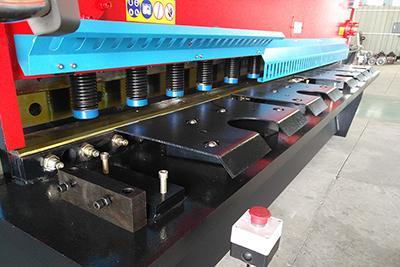 Qc11k Sheet Metal Hydraulic Guillotine Shear With E200ps